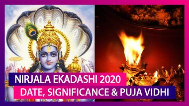 Nirjala Ekadashi 2020: Date, Significance And Puja Vidhi Of The Strict Fast Observed By Hindus