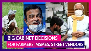 Better Prices For Farmers, Boost For MSMEs, Street Vendors In Big Cabinet Decisions