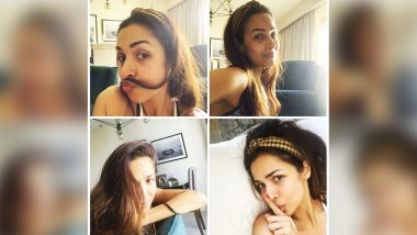 Malaika Arora Gives Us a Glimpse Of Her 'Various Lockdown Stages' and We Are Loving Her Goofy Expressions! (View Pic)