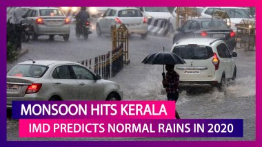 IMD Predicts Normal Monsoon For India As Rains Hit Kerala, Says Just 5 % Chance Of Deficit Rainfall