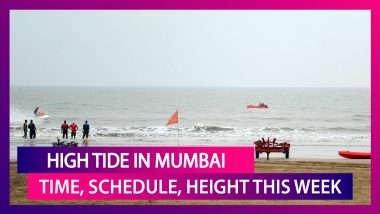 Cyclone Nisarga: Time, Schedule, Height Of High Tides Occurring In Mumbai This Week