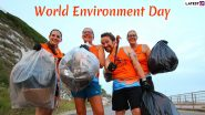 World Environment Day 2020: From Plogging to Using Reusable Straws & Bottles, Cool Eco-Conscious Practices You Can Adopt!