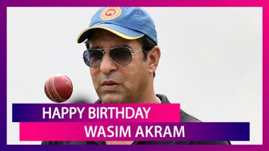 Happy Birthday Wasim Akram: 6 Interesting Facts About Sultan of Swing As He Turns 54