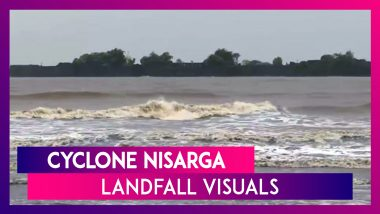 Cyclone Nisarga: Watch Dramatic Visuals As The Cyclonic Storm Made Landfall In Alibaug, Maharashtra