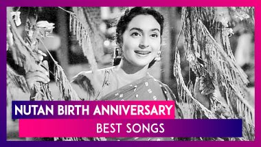 Nutan Birth Anniversary: 10 Songs Featuring The Legendary Actress That You Can Listen To On Loop