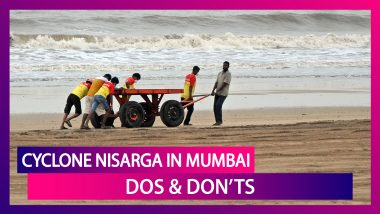 Cyclone Nisarga In Mumbai: List Of Dos And Don'ts; CM Uddhav Thackeray Asks People To Stay Alert
