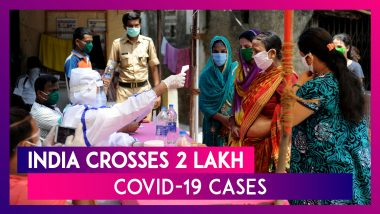 India Crosses 2 Lakh Coronavirus Cases With 8,909 Cases In 24 Hours, Death Toll Jumps To 5,815