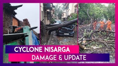 Cyclone Nisarga Claims Four Lives, Snaps Trees, Electric Poles In Maharashtra
