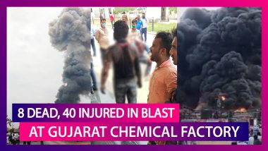 Eight Dead, 40 Injured In Boiler Blast At Chemical Factory In Bharuch, Gujarat