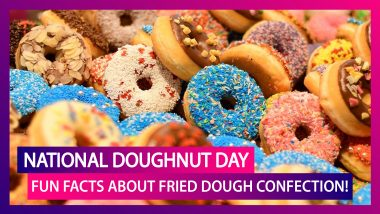National Doughnut Day 2020: Here Are Fun Facts About Fried Dough Confection!