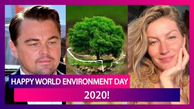 World Environment Day 2020: Hollywood Celebs Who Work Towards Healing Mother Nature!