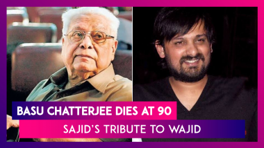 Legendary Director Basu Chatterjee Dies At 90; Sajid Khan's Moving Tribute To Brother Wajid & More