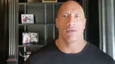 George Floyd Death: Dwayne Johnson Supports Black Lives Matter Movement, Questions Donald Trump's Lack of Leadership (Watch Video)