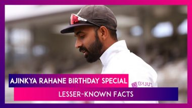 Happy Birthday Ajinkya Rahane: Lesser-Known Facts About India's Test Vice-Captain