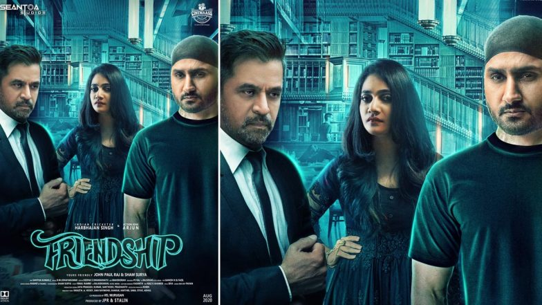 Friendship Motion Poster: Harbhajan Singh's First Tamil Film, Co-Starring Arjun Sarja and  Losliya, Gives Feels of A Shady Thriller (Watch Video)