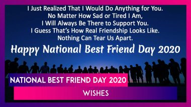 National Best Friend Day 2020 Wishes & Messages That Capture the Beauty of Having a BFF!