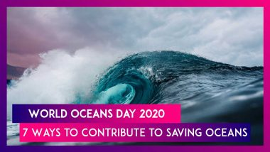 World Oceans Day 2020: Here Are 7 Ways To Contribute To Saving Oceans