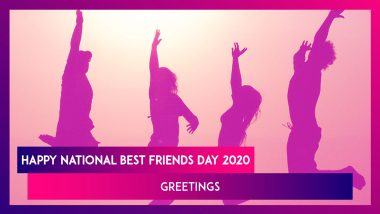 National Best Friend Day 2020 Wishes: WhatsApp Stickers, GIF Greetings To Send To Your Best Friends
