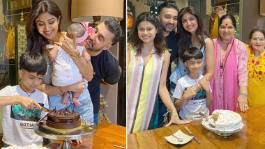 Shilpa Shetty Shares Pictures From Her Birthday Celebrations With Family, Says 'Feeling a Surge Of Love and Gratitude' (View Post)