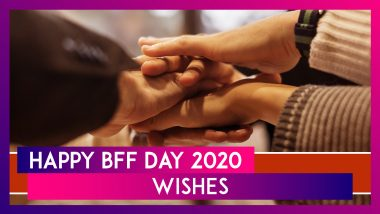 Happy BFF Day 2020 Greetings, Quotes & HD Images to Celebrate National Best Friend Day 2020 (USA)