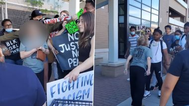 Video of White Lawyer, 64, Spitting on a Black Teen After Blocking Black Lives Matter Protests Goes Viral! Netizens Enraged At The Incident Of Racist Attack After George Floyd Death
