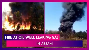 Assam Baghjan Oil Well: Massive Fire Due To Gas Leak Claims Two Lives, Experts Say It Could Take 28 Days To Cap