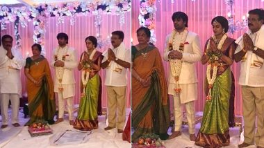 Saaho Director Sujeeth Gets Engaged to Pravalika in a Traditional Ceremony With Close Family in Attendance Amid Lockdown (View Pics)