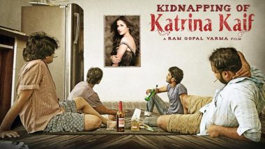 Ram Gopal Varma Announces his Next Project 'Kidnapping of Katrina Kaif' and We Don't Know What to Make Of It (View Poster)