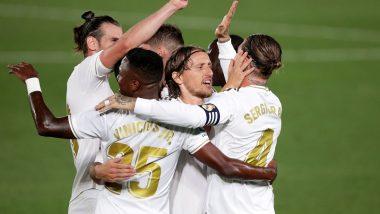 Real Madrid Beat Barcelona 3-1 in La Liga 2020-21 Match; Twitterati Praise Los Blancos for Clinching Season's First El Clasico
