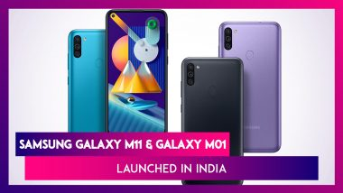Samsung Galaxy M01 & Galaxy M11 Officially Launched in India; Prices, Variants, Features & Specifications