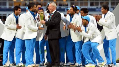 This Day That Year: MS Dhoni Became the Only Captain to Win All Three ICC Trophies As India Won Champions Trophy in 2013