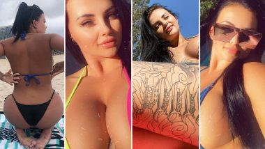 Porn Star Renee Gracie XXX-Tra HOT Bikini Pictures Take Instagram by Storm! 10 Sexy Photos To Prove That The Curvy Bombshell's Love For Tiny String Bikinis in Vibrant Colours Is Real