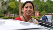 Smriti Irani Details Her Visits to Amethi In Response to Congress' 'Missing Posters' Attack, Hits Back At Sonia Gandhi
