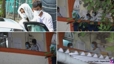 Sushant Singh Rajput Death: Bandra Police Records Rumoured Girlfriend Rhea Chakraborty's Statement (View Pics)