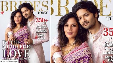 Richa Chadha and Ali Fazal Look Gorgeous As They Deck Up In Ethnic Wear For a Bridal Magazine Cover (View Pic)