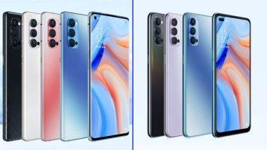 Oppo Reno 4, Oppo Reno 4 Pro Smartphones Launched; Prices, Features & Specifications