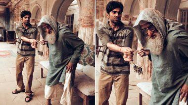 Ayushmann Khurrana Pens Heartfelt Note Praising His Gulabo Sitabo Co-star Amitabh Bachchan (View Post)