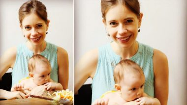 Kalki Koechlin Shares an Adorable Picture With Her 'Favourite Munchkin' Sappho, Says She's Loving Motherhood (View Post)