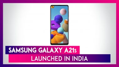 Samsung Galaxy A21s Featuring a 48MP Quad Rear Camera Setup Launched in India; Check Prices, Variants, Features & Specifications