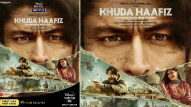Khuda Haafiz on Disney+ Hotstar : Vidyut Jammwal's Upcoming Romantic Thriller Looks Intense (View Pic)