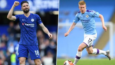Chelsea vs Manchester City, Premier League 2019–20: Olivier Giroud, Kevin De Bruyne and Other Players to Watch Out in EPL Football Match