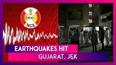 5.5 Magnitude Earthquake Strikes Rajkot, Gujarat; 2.9 Magnitude Quake Felt In Jammu & Kashmir: NCS
