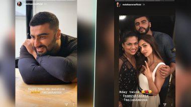 Malaika Arora Shares a Super Adorable Birthday Wish for Her 'Sunshine' Arjun Kapoor - View Pics