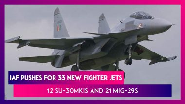 India To Buy 12 Su-30MKIs And 21 MiG-29s From Russia