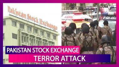 Pakistan Stock Exchange Terror Attack In Karachi: Balochistan Liberation Army Claims Responsibility