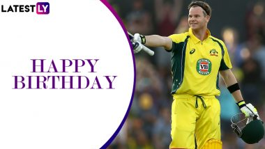 Steve Smith Birthday Special: Relive Australian Batsman's Century vs India in 2015 ICC Cricket World Cup Semi-Final (Watch Video)
