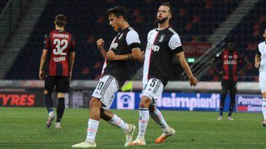 Bologna 0–2 Juventus, Serie A 2019–20 Match Result: Cristiano Ronaldo, Paulo Dybala on Target As Bianconeri's Make Winning Return (Watch Goal Video Highlights)