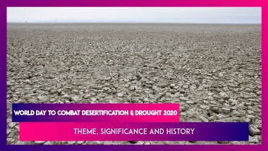 World Day To Combat Desertification & Drought 2020: Theme, Significance, History Of The Global Event