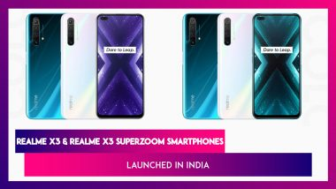 Realme X3 Series & Realme Buds Q Launched in India; Check Prices, Variants, Features & Specifications