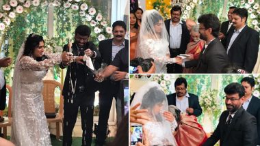 Bigg Boss Tamil Season 3 Fame Vanitha Vijayakumar Marries Peter Paul - Check Out their Happy Pictures